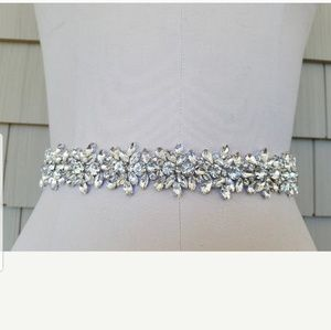Diamond/Crystal Wedding Belt/Sash